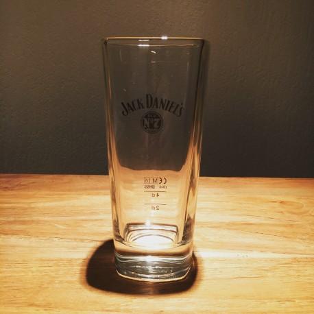 Verre Jack long drink logo noir