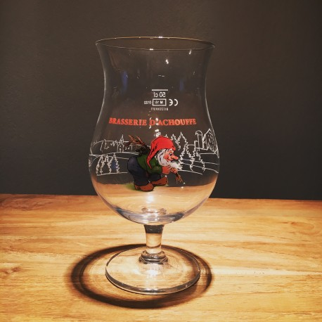Glas bier Chouffe 50cl