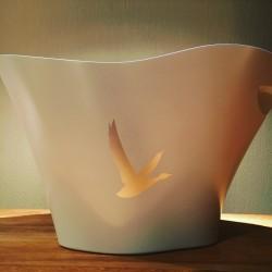 Vasque seau à glaçons Grey Goose blanche