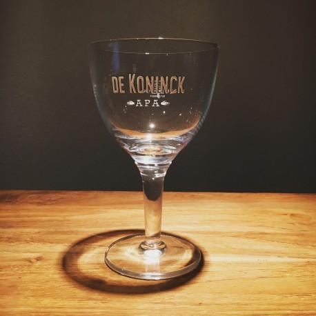 Verre bière De Koninck A.P.A