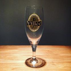 Verre Bière Eau de Villée