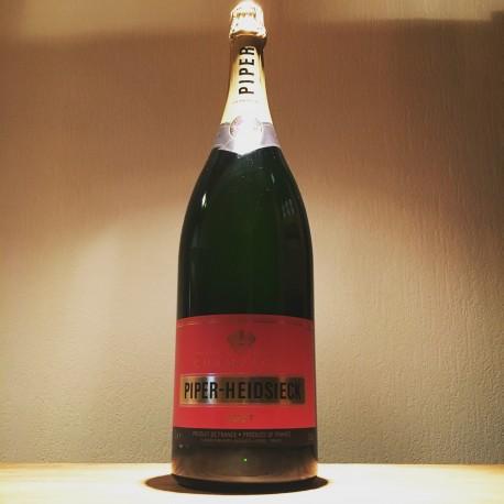 Dummy champagne bottle Piper Heidsiek Brut  3L (Jeroboam)