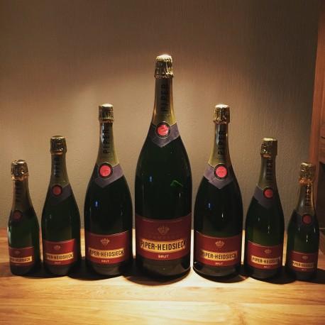 Kit de bouteilles de champagne factices Piper Heidsiek Brut