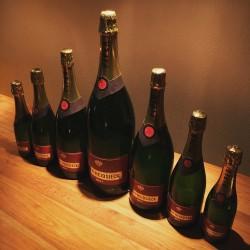 Kit dummy champagne bottles Piper Heidsiek Brut