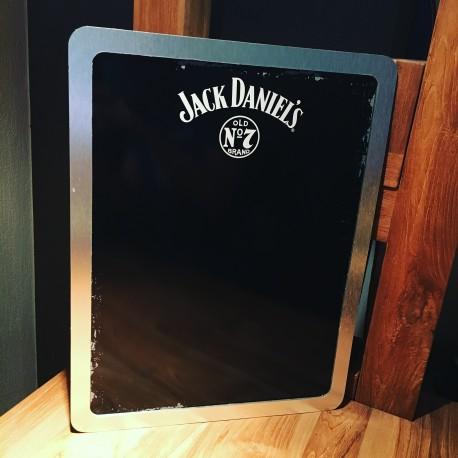 Menu plateau Ardoise Jack Daniel's