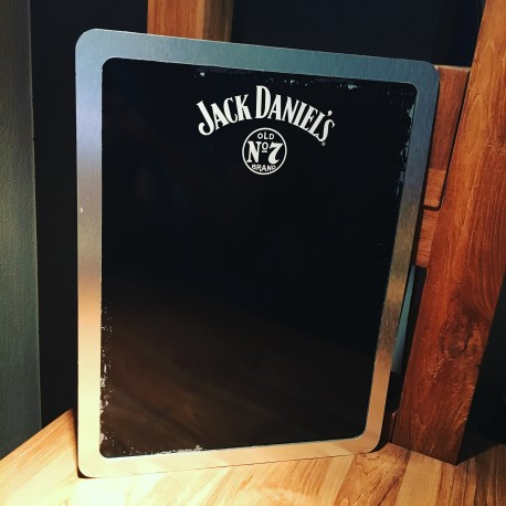 Menu wandplaat Jack Daniel's