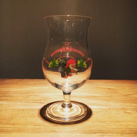 Verre bière Chouffe 33cl ancien