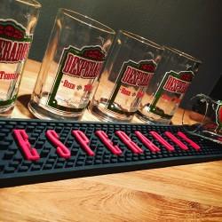 Kit Desperados 6 verres + tapis de bar