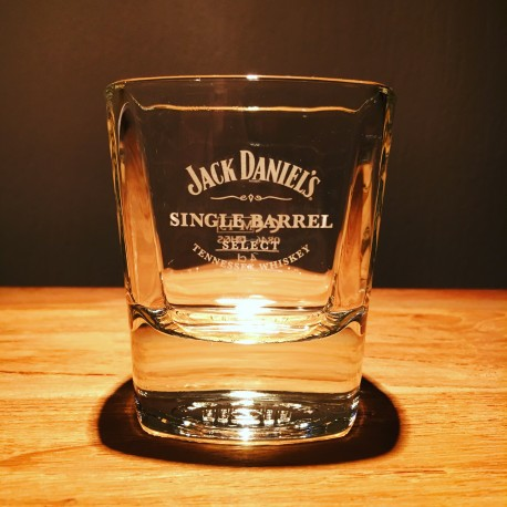 Verre Tumbler Jack Daniel's single barrel