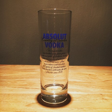 Glas Vodka Absolut Long drink