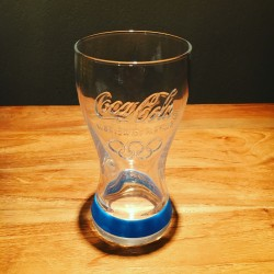 Glass Coca-Cola Olympic games 2012 blue