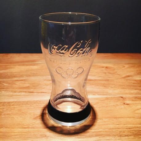 Glas Coca-Cola Olympische spelen 2012 zwart