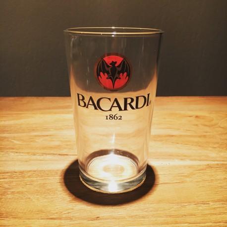 Glass Bacardi Cola vintage