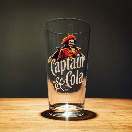Glass Captain Cola