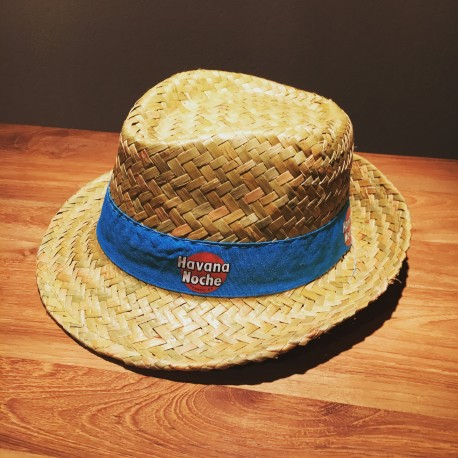 Chapeau Havana Club modèle bleu