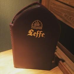 Kaart menu Leffe
