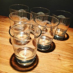 Glass Baileys tumbler