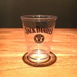 Verre Jack Daniel's shooter transparent en PVC