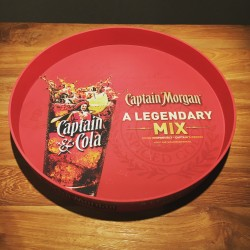 Plateau Captain Morgan