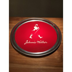 Tray Johnie Walker in stainless steel model 1
