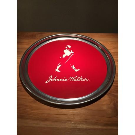 Tray Johnie Walker in stainless steel model 1