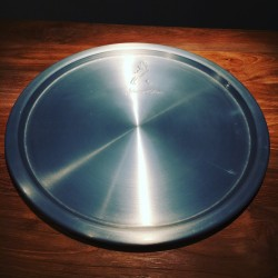 Tray Johnie Walker in stainless steel model 2