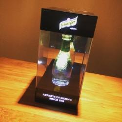 Flessenhouder Schweppes met verlichting