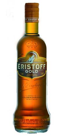 Bouteille Eristoff Gold
