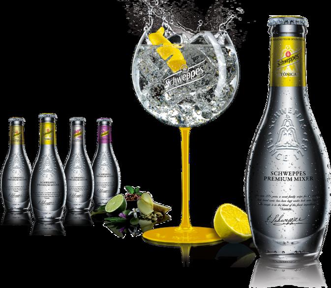 Schweppes Premium bouteille